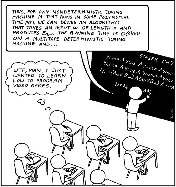 Чему нужно учить в магистратуре по Computer Science?