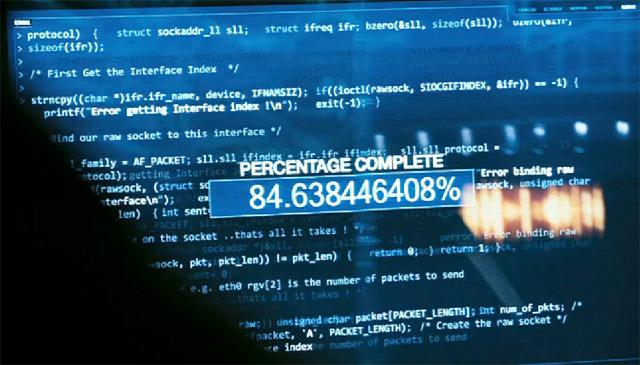 Что делает компьютерный код в голливудских фильмах