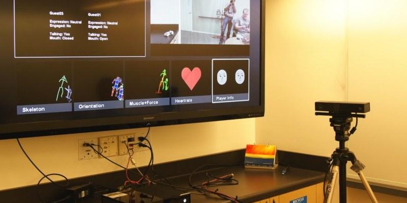Рисунок 1. Режимы просмотра нового Kinect.