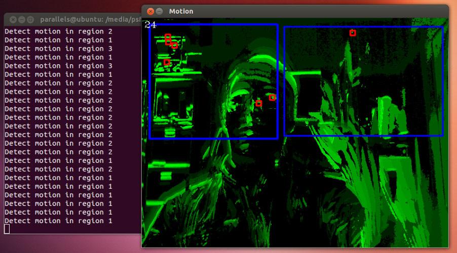 Делаем детектор движения, или OpenCV — это просто
