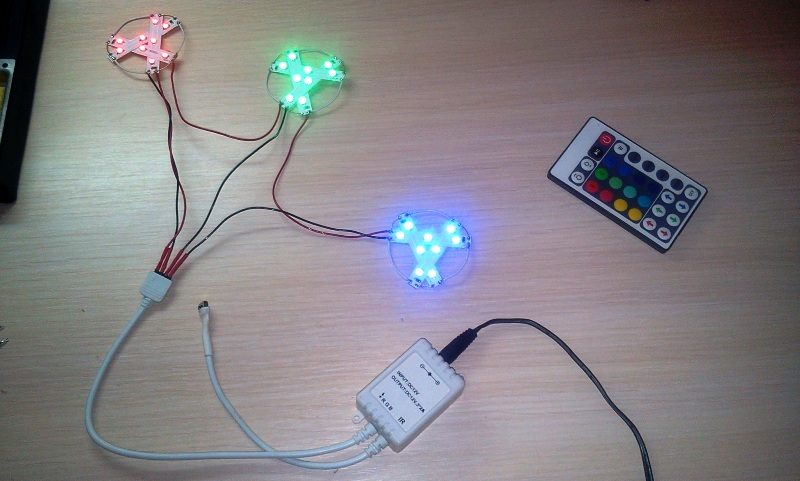 Делаем елочные игрушки из светодиодных лент