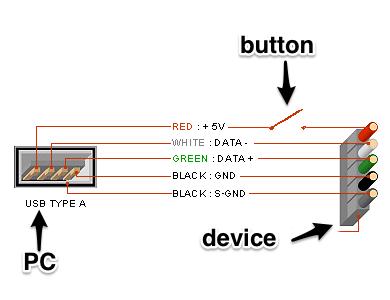 Дешевая USB кнопка для PC