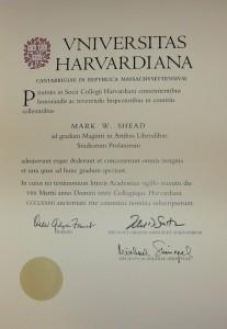 Диплом магистра от Гарварда — реальность