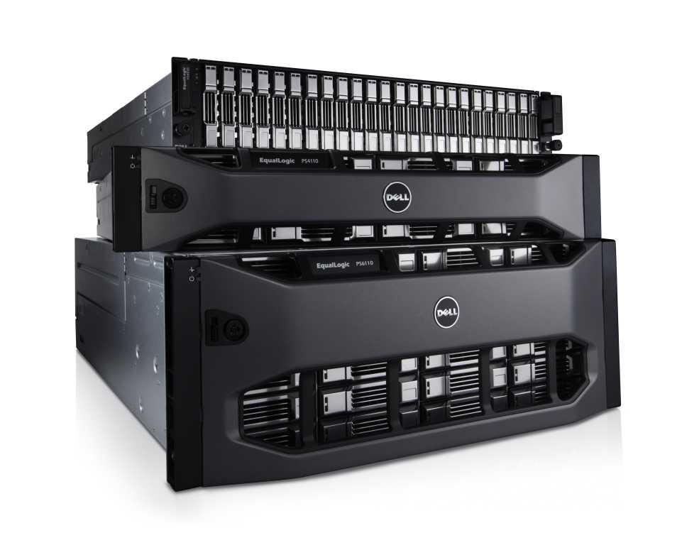 EqualLogic PS4110 и EqualLogic PS6110