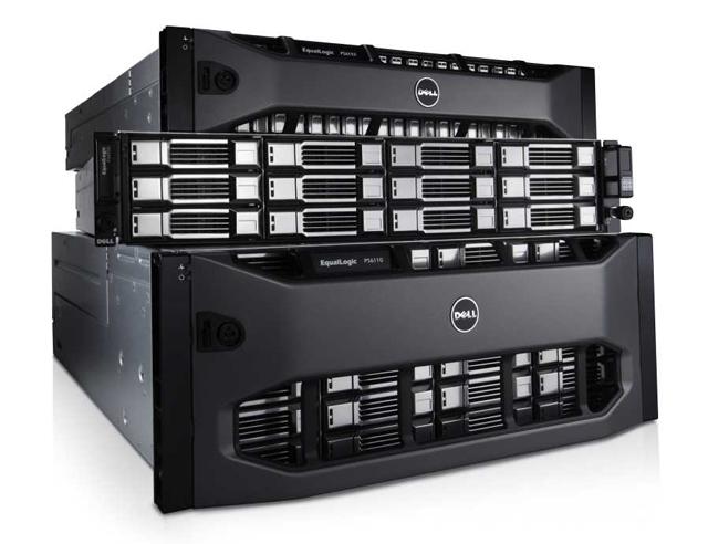 Дисковые массивы Dell EqualLogic
