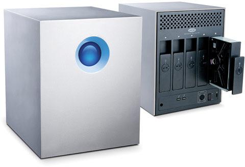 Массив накопителей LaCie 5big объемом 20 ТБ оснащен интерфейсом Thunderbolt