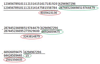 Длинная арифметика от Microsoft