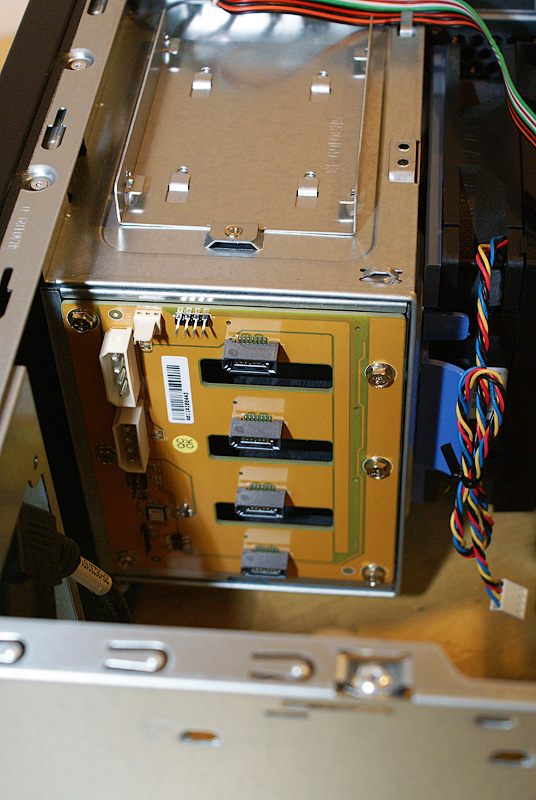 Домашний сервер/NAS на платформе Mini ITX