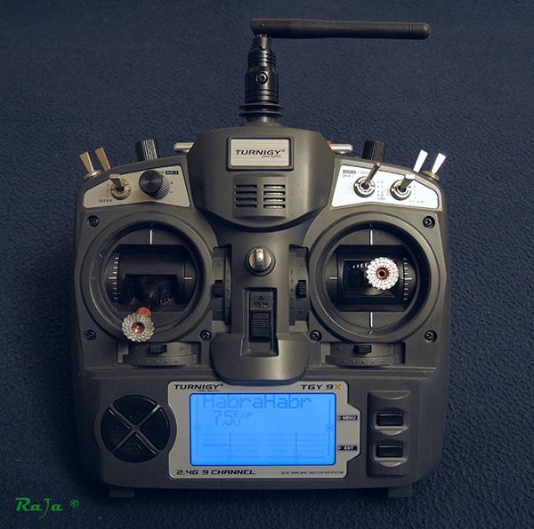 Дорабатываем аппаратуру Turnigy 9x