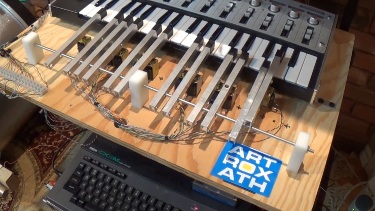 Два сканера, осциллограф, электрогитара: компьютерная музыка Bit 52s