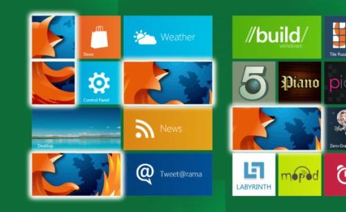 Mozilla работает над Firefox для Windows 8 Metro