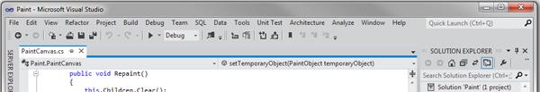 Visual Studio / Новый интерфейс Visual Studio 11
