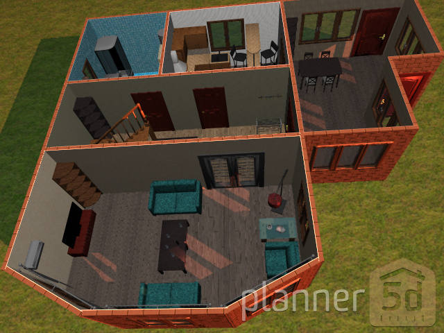Экспорт планировок из Planner 5D