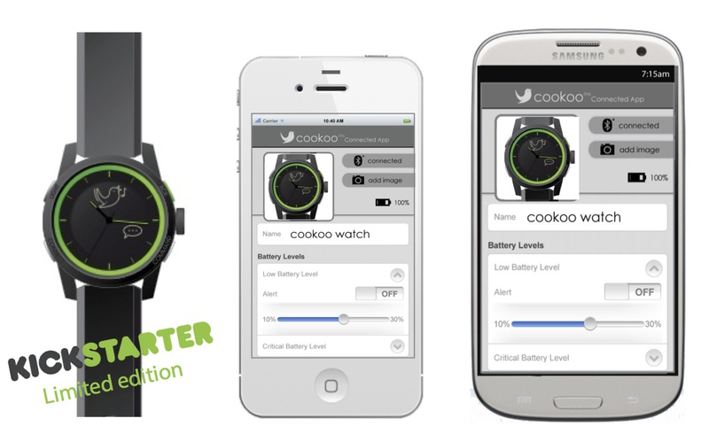 Электронные наручные часы cookoo™ уже собрали 122 000 $ из требуемых 150 000 $ на Kickstarter