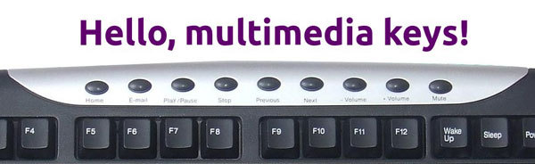 Эмуляция нажатия мультимедийных клавиш в Windows, Linux и Mac OS X