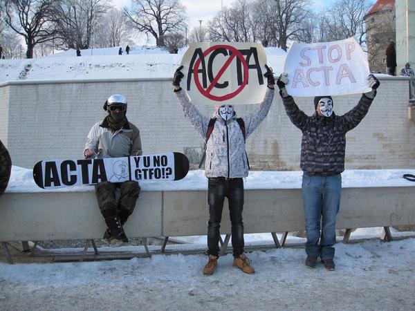Европейский парламент проголосовал против ACTA
