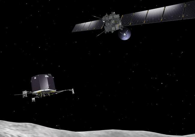 Европейское космическое агентство ESA представило видео пробуждения межпланетного зонда «Розетта»