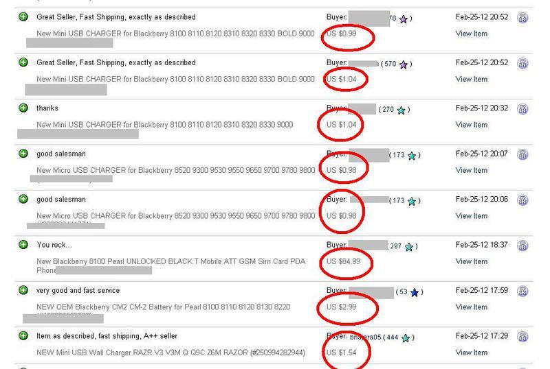 eBay / Признаки мошенничества на eBay
