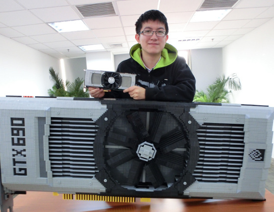 GeForce GTX 690 Lego