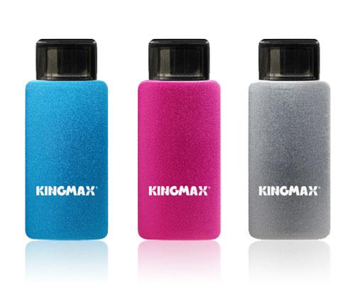 Доступны накопители Kingmax PJ-01 объемом 8, 16 и 32 ГБ