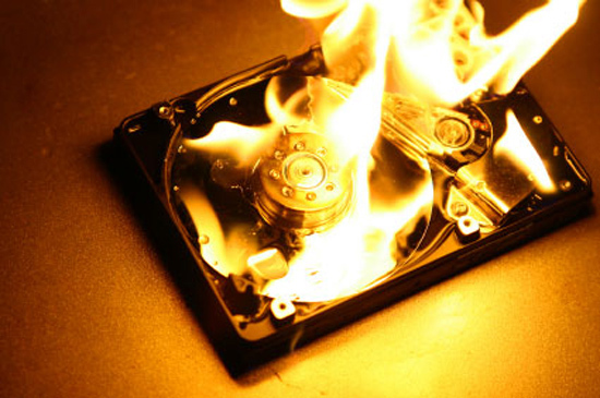 Форс мажоры, или как люди теряли свои данные