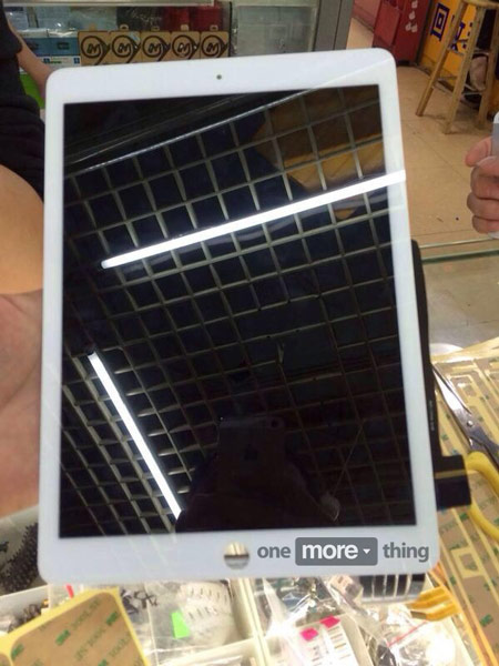 По предварительным данным, планшет iPad Air 2 будет построен на процессоре A8