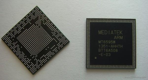 Появление первых смартфонов на SoC MediaTek MT6595 ожидается в самое ближайшее время