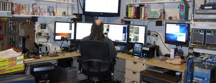 Фотографии домашних офисов 3