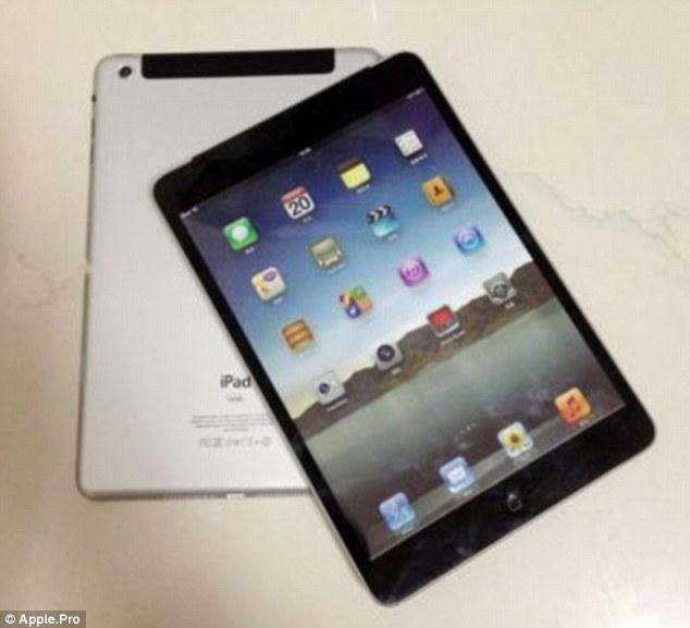 Фотографии iPad Mini просочились в сеть