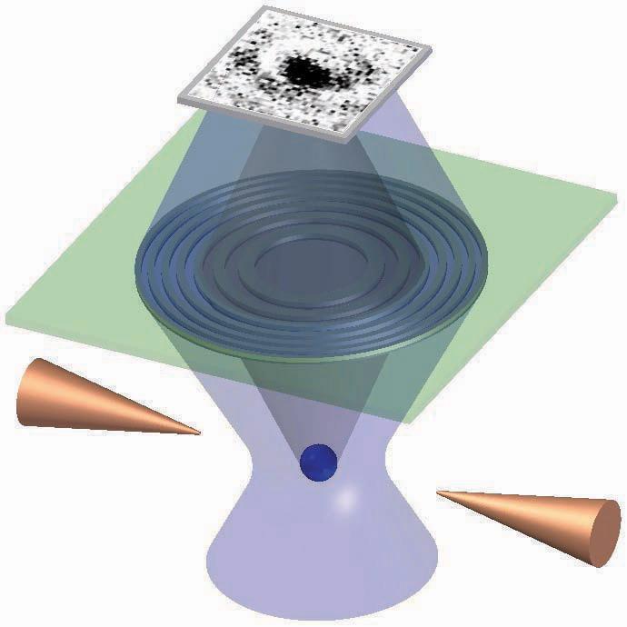Фотография атомной тени