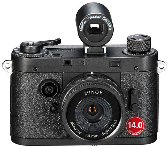 Цена камеры в стиле ретро Minox DCC 14.0 — $239