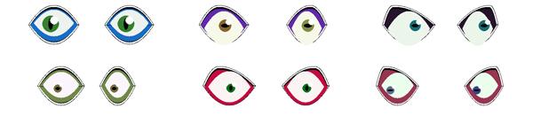 Генерация аватарок средствами PHP, глаза
