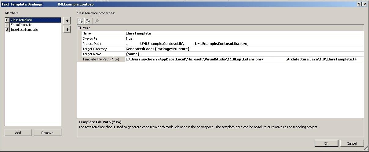 Генерация java кода из UML модели