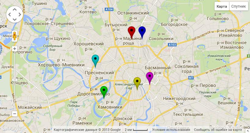Генерируем кастомные маркеры для Google Maps v3