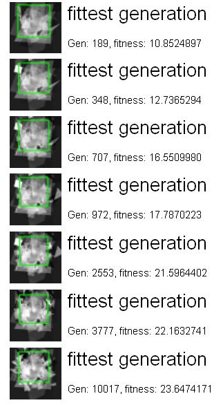 Генетический алгоритм для генерации лиц