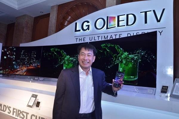 Телевизор LG Curved OLED 55EA9800