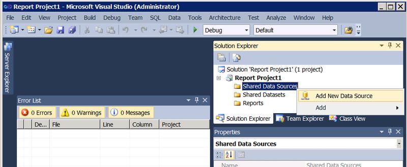 Геопространственные типы в отчетах SQL Server Reporting Services