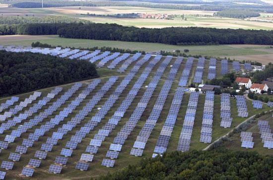 Германия поставила рекорд по солнечной энергии: 22 ГВтч