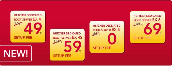 Хетзнер снизил цену на установку серверов