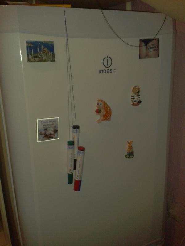 Холодильник для заметок «Сделай сам»