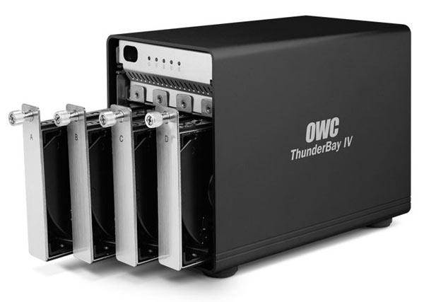 Цена пустого хранилища OWC ThunderBay IV равна $450