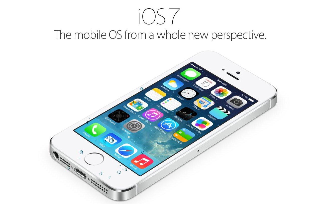 iOS 7 делает iPhone водонепроницаемым
