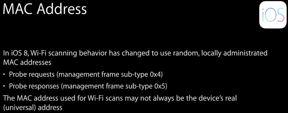 iOS8 — Новая политика подключения к WiFi