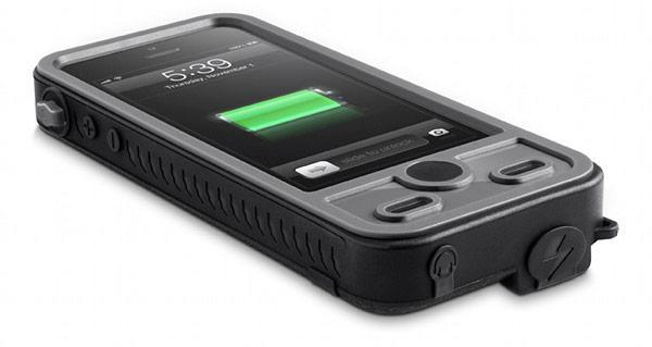 Емкости батарей, устанавливаемых в чехлы ibattz Mojo Refuel Aqua и Mojo Refuel Armor, достаточно для одной полной зарядки Apple iPhone 5s