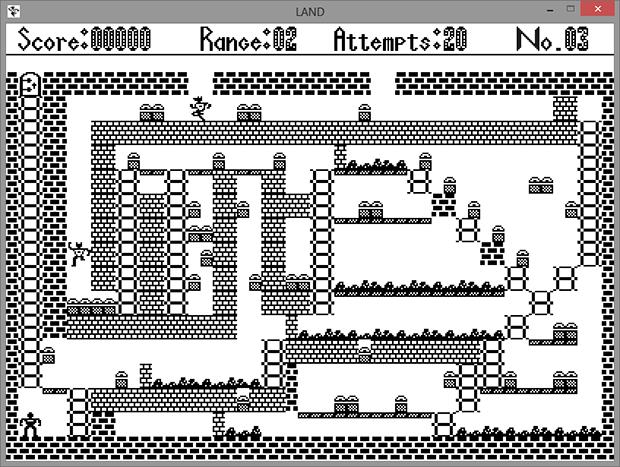 Игра «LAND» для ДВК 3. Реинкарнация под Windows