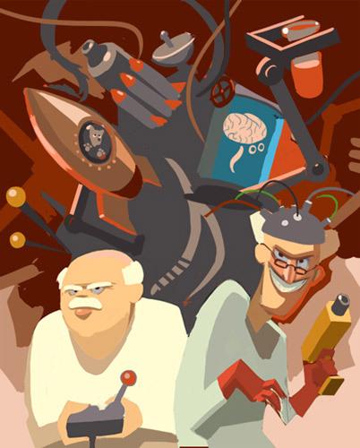 Игра про безумных учёных гиков и немного фееричная история локализации