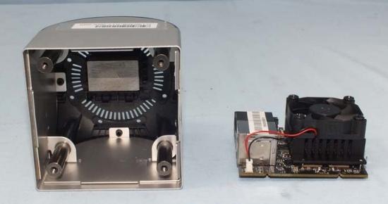 Игровая консоль Ouya внутри и снаружи (фото с FCC)