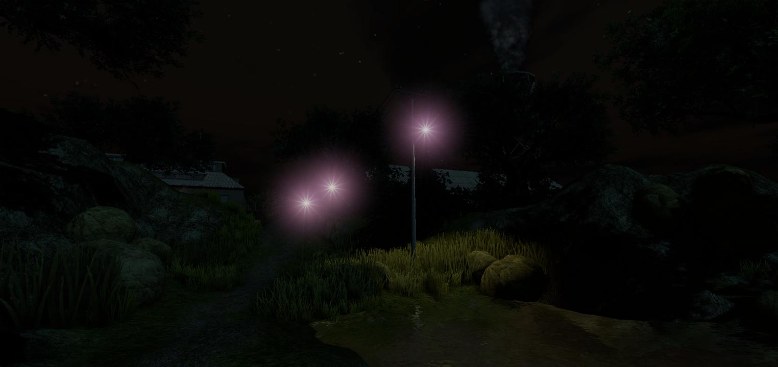 Имитируем ночное зрение человека в 3D игре