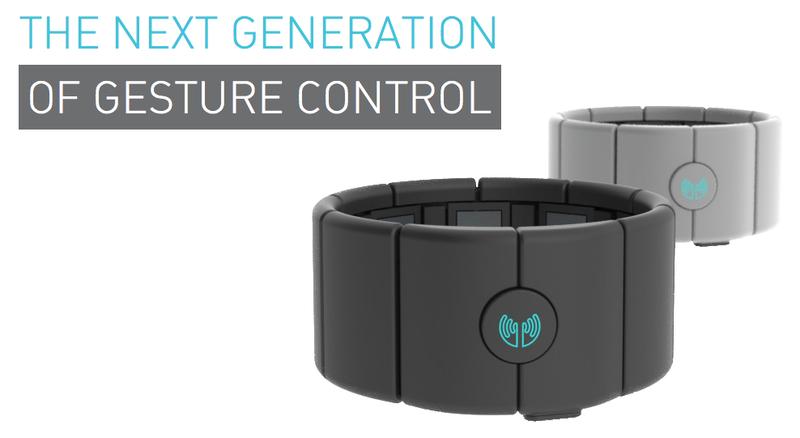 Инновационный браслет MYO от Thalmic Labs