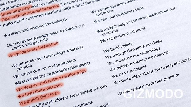 Инструкция по общению с клиентами для сотрудников технической поддержки Apple